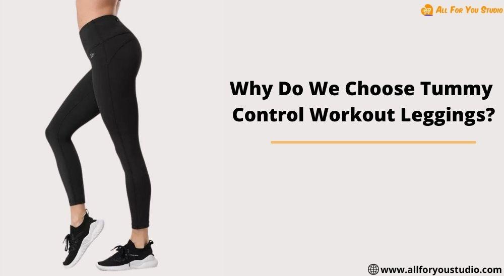 Tummy control workout leggings